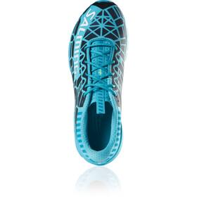 Salming Speed 8 Zapatillas Mujer, azul/negro